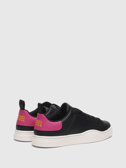 Diesel - S-CLEVER LOW LACE W, Schwarz/Rosa - Sneakers - Image 3