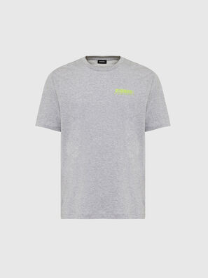 T-JUST-SLITS-X84, Grau - T-Shirts