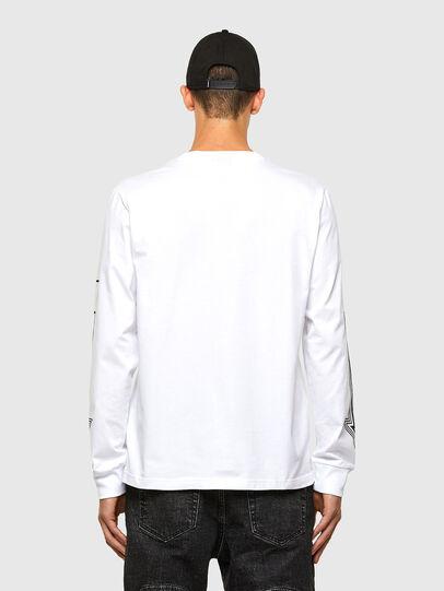 Diesel - T-JUST-LS-A8, Weiß - T-Shirts - Image 2