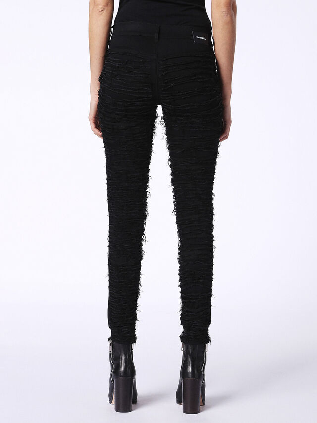 DHARY-DT 0686M, Jeansschwarz