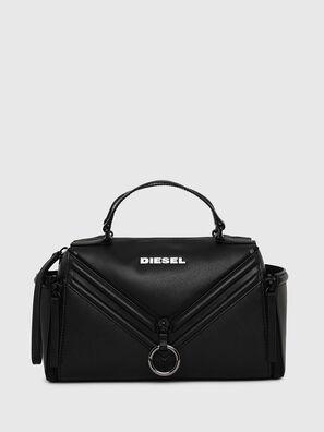LE-ZIPPER SATCHEL, Schwarz - Satchel Bags und Handtaschen