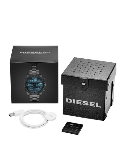Diesel - DT2004, Silbergrau - Smartwatches - Image 5