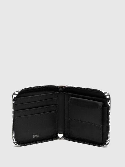 Diesel - HIRESH XS ZIPPI, Bunt/Braun - Portemonnaies Zip-Around - Image 3