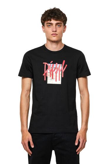 T-Shirt mit Drip-Logo