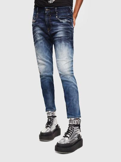 Diesel - FAYZA JoggJeans® 069KD, Dunkelblau - Jeans - Image 1