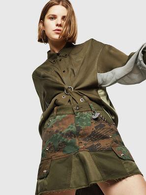O-AMATA, Camouflagegrün - Röcke