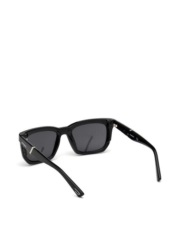 Diesel - DL0254, Schwarz - Sonnenbrille - Image 2