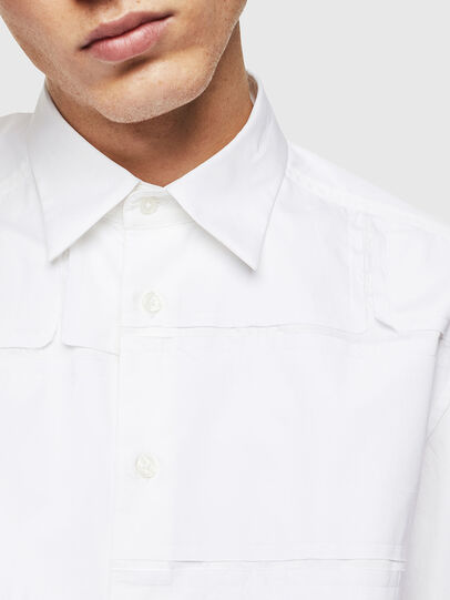 Diesel - S-AUDREY, Weiß - Hemden - Image 5