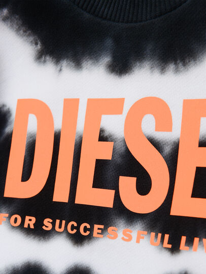 Diesel - SOBEZB, Schwarz/Weiss - Sweatshirts - Image 3