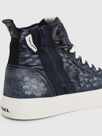 Diesel - S-ASTICO MID ZIP W, Jeansblau - Sneakers - Image 4
