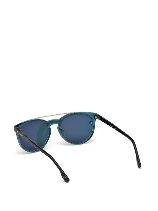 Diesel - DL0216, Blau/Orange - Sonnenbrille - Image 2