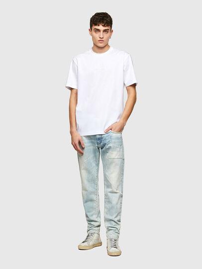 Diesel - T-JUST-E7, Weiß - T-Shirts - Image 4