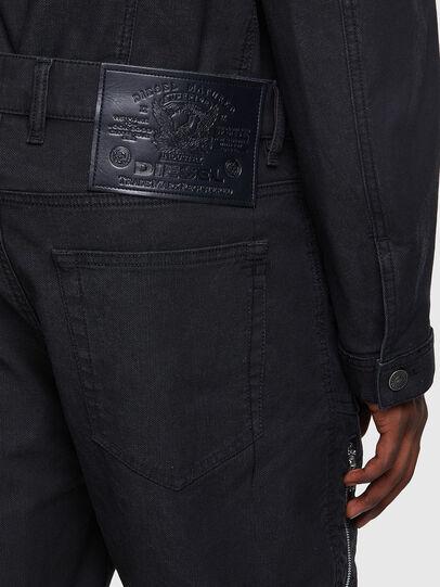 Diesel - D-VIDER JoggJeans® 0DDAX, Schwarz/Dunkelgrau - Jeans - Image 3