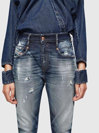 Diesel - Fayza 0092I, Dunkelblau - Jeans - Image 3