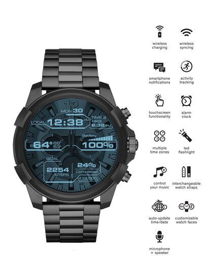 Diesel - DT2004, Silbergrau - Smartwatches - Image 1