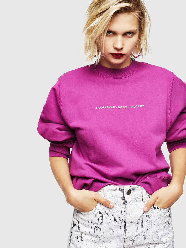 F-ANG-COPY, Violett - Sweatshirts