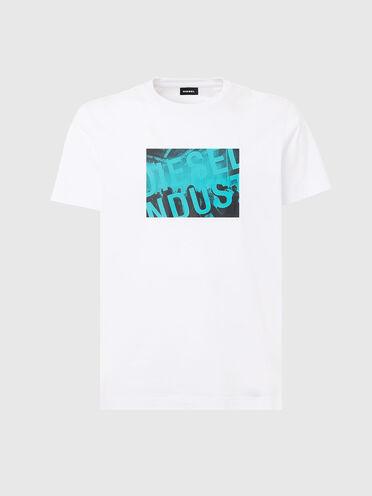 T-Shirt mit Diesel Industry-Logo
