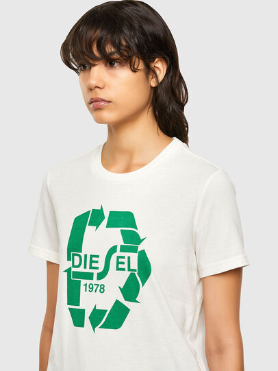 Diesel - T-SILY-V32, Weiß - T-Shirts - Image 3