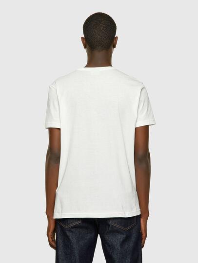 Diesel - T-DIEGOS-E2, Weiß - T-Shirts - Image 2