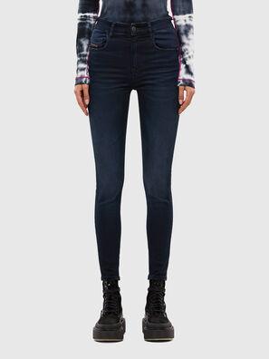 Slandy High 009JG, Dunkelblau - Jeans