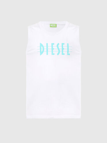 Nachhaltig hergestelltes Tanktop mit Diesel-Logo