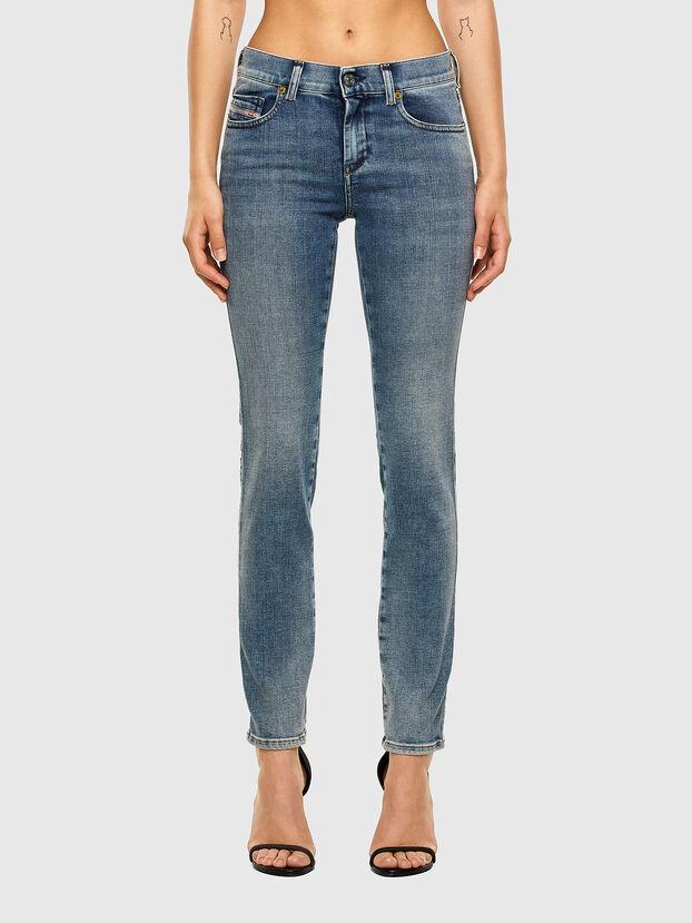 Sandy 009AA, Mittelblau - Jeans