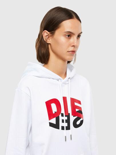 Diesel - S-GIRK-HOOD-N1, Weiß - Sweatshirts - Image 6
