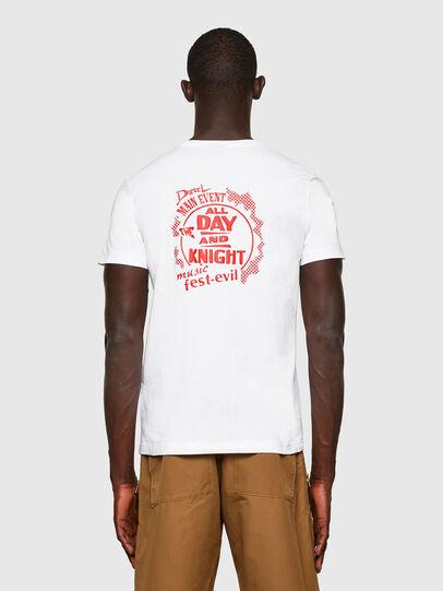 Diesel - T-DIEGOS-K15, Weiß - T-Shirts - Image 2