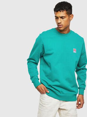 S-GIR-DIV-P, Wassergrün - Sweatshirts