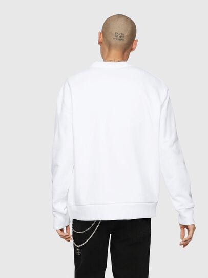 Diesel - S-LINK, Weiß - Sweatshirts - Image 3