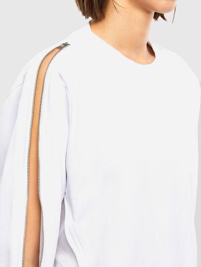 Diesel - F-ROSETTA, Weiß - Sweatshirts - Image 4