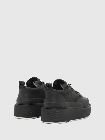 Diesel - H-SCIROCCO LOW LACE, Schwarz - Sneakers - Image 3
