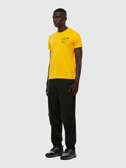 Diesel - T-DIEGOS-N21, Gelb - T-Shirts - Image 4