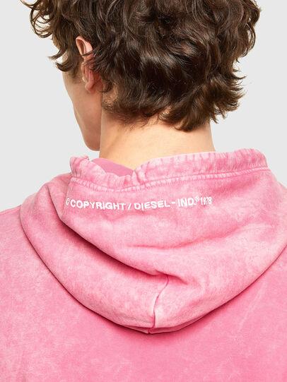 Diesel - S-UMMER-E2, Rosa - Sweatshirts - Image 3