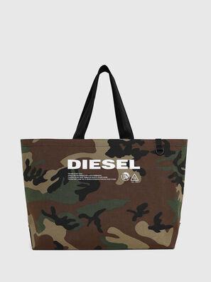 D-THISBAG SHOPPER L, Camouflagegrün - Shopper und Schultertaschen
