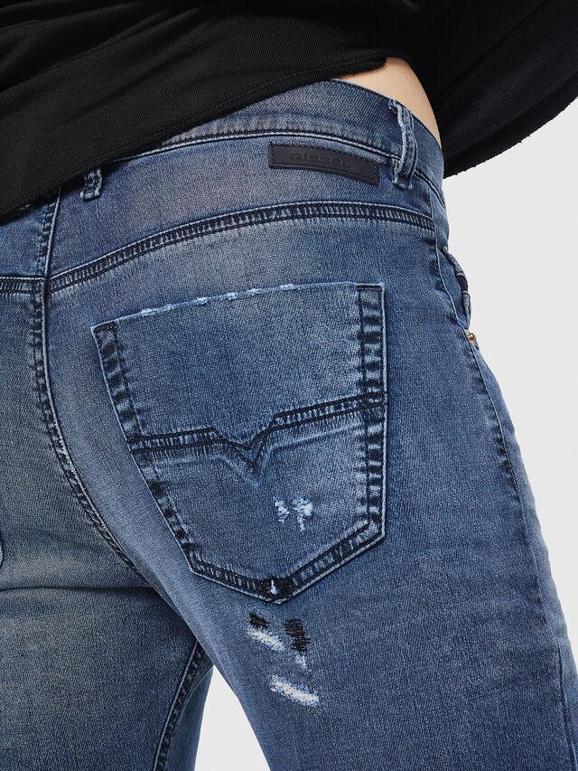 Diesel - Krailey JoggJeans 069HA, Mittelblau - Jeans - Image 5