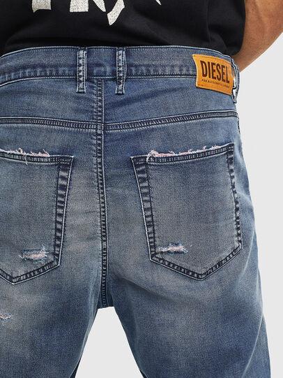 Diesel - D-Vider JoggJeans 069LW, Dunkelblau - Jeans - Image 6