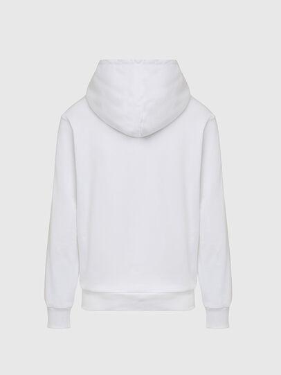 Diesel - S-GIRK-HOOD-CUTY, Weiß - Sweatshirts - Image 2