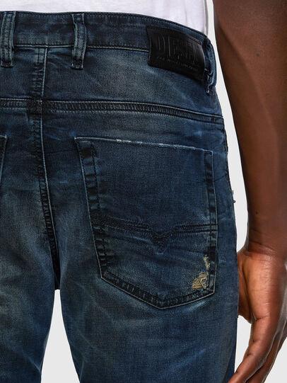 Diesel - Krooley JoggJeans 069NP, Dunkelblau - Jeans - Image 6