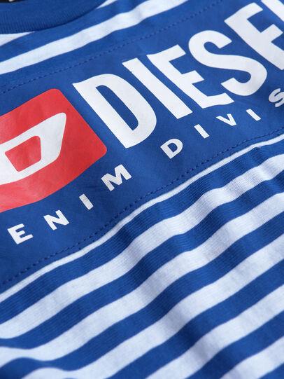 Diesel - TVIKTOR OVER, Blau/Weiß - T-Shirts und Tops - Image 3