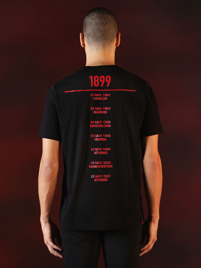 Diesel - DVL-TSHIRT-PRINT-SPECIAL COLLECTION, Schwarz - T-Shirts - Image 3