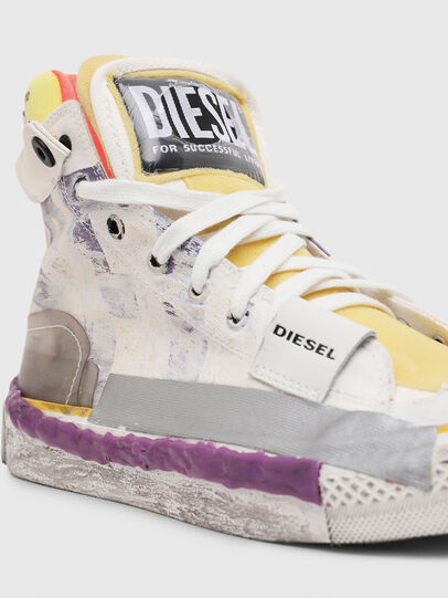 Diesel - S-ASTICO PNT W, Weiß/Rosa - Sneakers - Image 4