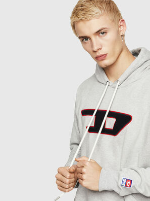S-DIVISION-D, Grau - Sweatshirts