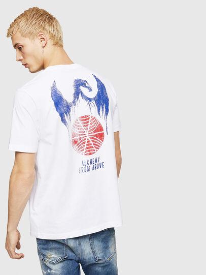 Diesel - T-JUST-A4, Weiß - T-Shirts - Image 2