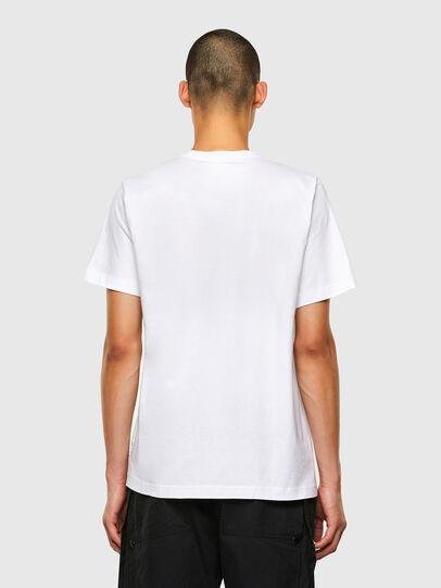 Diesel - T-TUBOLAR-N2, Weiß - T-Shirts - Image 2