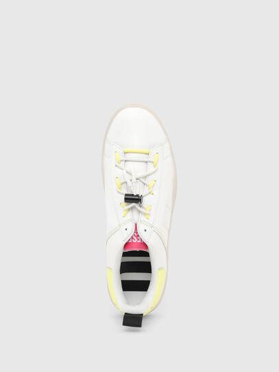 Diesel - S-CLEVER SO C, Weiss/Gelb - Sneakers - Image 5