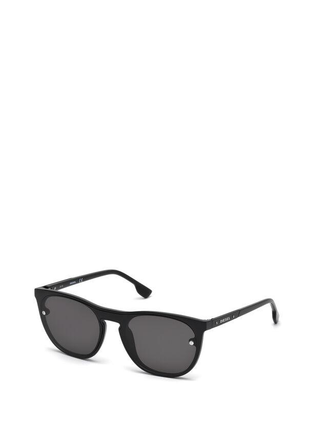 Diesel - DL0217, Schwarz - Sonnenbrille - Image 4