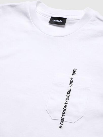 Diesel - TJUSTPOCKETCOPY, Weiß - T-Shirts und Tops - Image 3