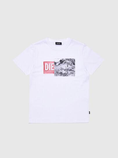 Diesel - TJUSTXH, Weiß - T-Shirts und Tops - Image 1