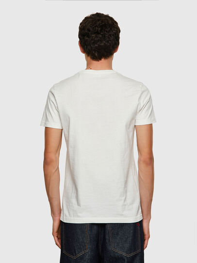 Diesel - T-WORKY-MOHI, Weiß - T-Shirts - Image 2